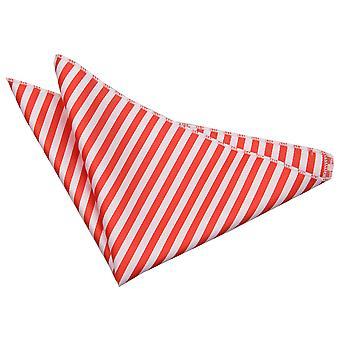 Wit & rood Thin Stripe zak plein