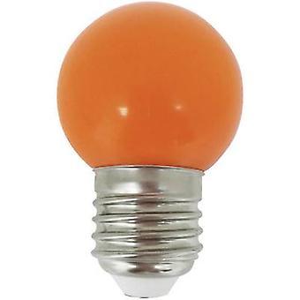 LightMe LM85255 LED (monochrome) E27 Droplet 1 W Orange (Ø x L) 45 mm x 70 mm 1 pc(s)
