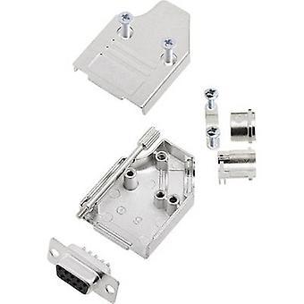 encitech MHDM35-09-DMS-K 6355-0008-11 D-SUB-uttag set 180 ° antal stift: 9 Lödskopa 1 set