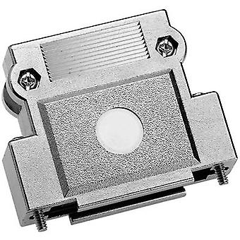 Provertha 37150M001 37150M001 D-SUB housing Number of pins: 15 Plastic, metallised 180 ° Silver 1 pc(s)