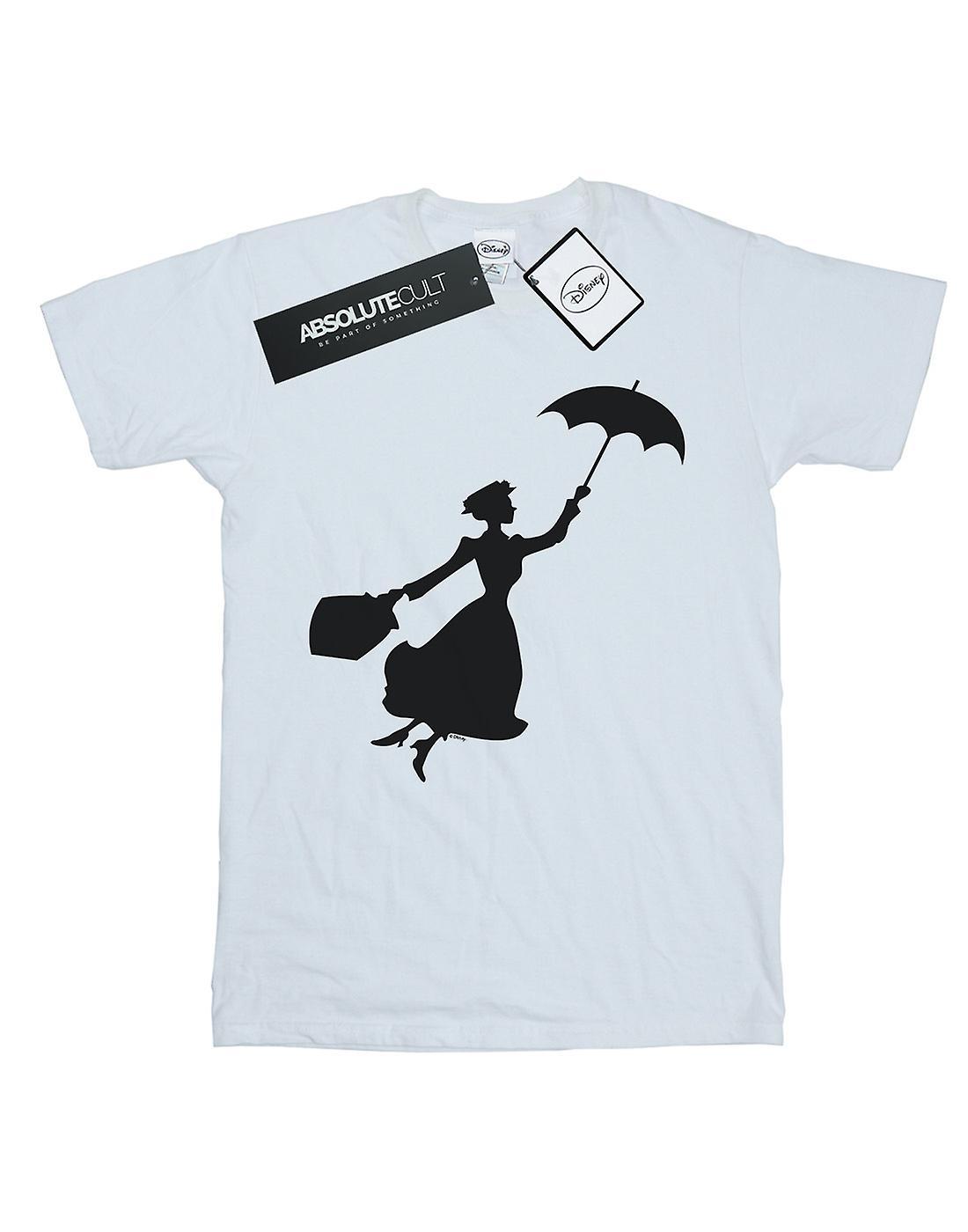 Disney Boys Mary Poppins Flying Silhouette T-Shirt