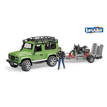Bruder 2598 Land rover Jeep avec moteur