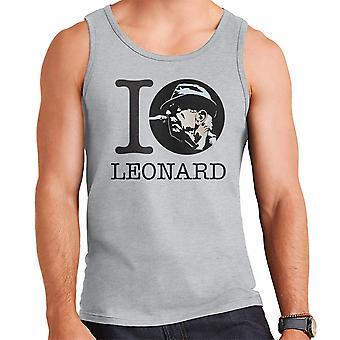 I Heart Leonard Cohen miesten liivi