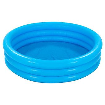 "Intex Crystal Blue Three Ring Inflatable Paddling Pool 58"" x 13"" 58426NP"