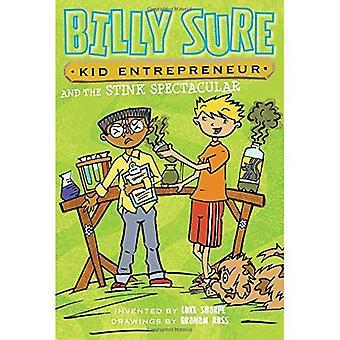 Empresário de claro, garoto Billy e o fedor espetacular