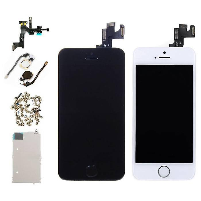 Stuff Certified® iPhone SE Pre-assembled Screen (Touchscreen + LCD + Parts) A + Quality - Black + Tools
