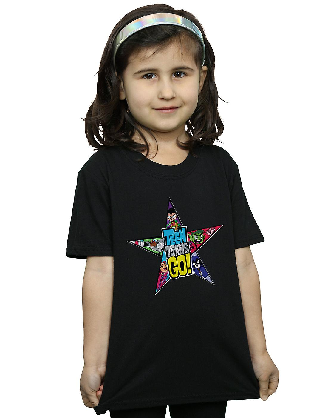 DC Comics Girls Teen Titans Go Star Logo T-Shirt