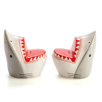 Shark Attack Salt & Pepper Set