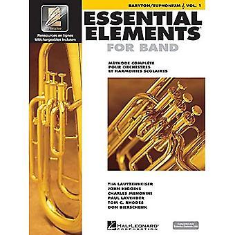 Elementi essenziali Ee2000 baritono/eufonio T.C.: Edizione francese