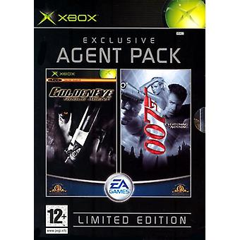 James Bond Pack (Inclut GoldenEye Rogue Agent et 007 Everything or Nothing) (Xbox) - Nouveau