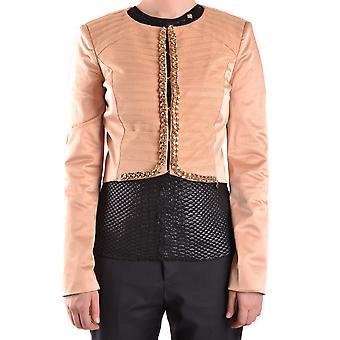 Elisabetta Franchi Ezbc050016 Women's Beige Polyester Blazer