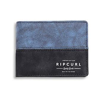 Rip Curl Arch RFID PU All Day Faux Leather Wallet in Navy