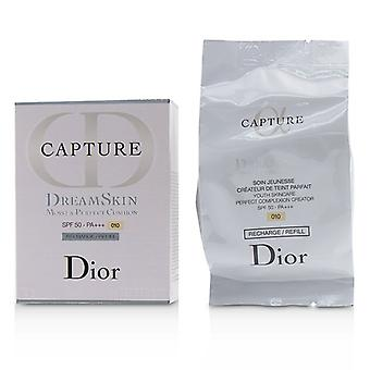 Christian Dior Capture Dreamskin kostea & amp; Perfect tyyny SPF 50 Refill-# 010 (Ivory)-15g/0.5 oz