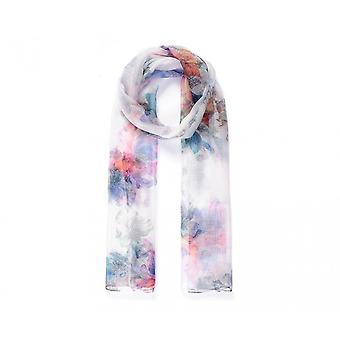 Intrigue Womens/Ladies Floral Digital Print Sheer Scarf