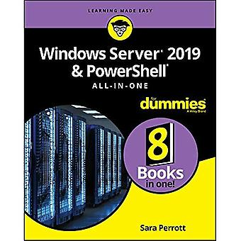 Windows Server 2019 y PowerShell todo-en-uno para Dummies