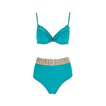 Paramidonna Mpvhp004 Dames's Groene Nylon Bikini