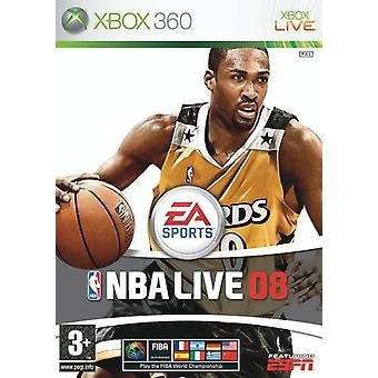 NBA Live 08 (Xbox 360) - Novo