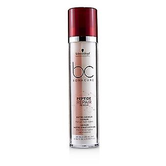 Schwarzkopf BC Bonacure Peptide Repair Rescue Nutri-Shield Serum (For All Hair Types) 2x28ml/0.94oz