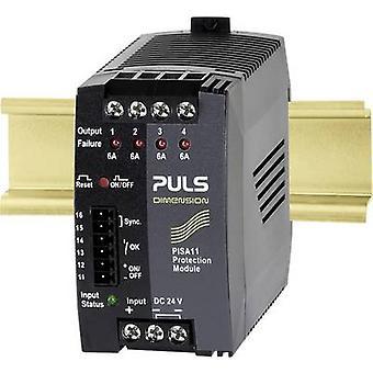 PULS DIMENSION PISA11.406 Overvoltage/overcurrent protector 24 V DC 6 A 4 x