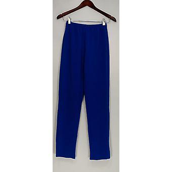 Susan graver vrouwen ' s broek XXS Essentials Lustra Knit pull op blauw A285514