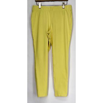 Options amincissante pour Kate et Mallory Leggings Shaping Cropped Yellow A408576
