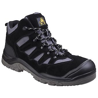 Amblers Safety Mens AS251 Lightweight Safety Hiker Boot Black