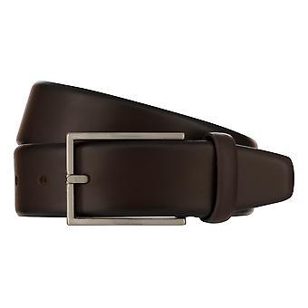 MONTI BORDEAUX Belt Men's Belt Leather Belt Brown 8139