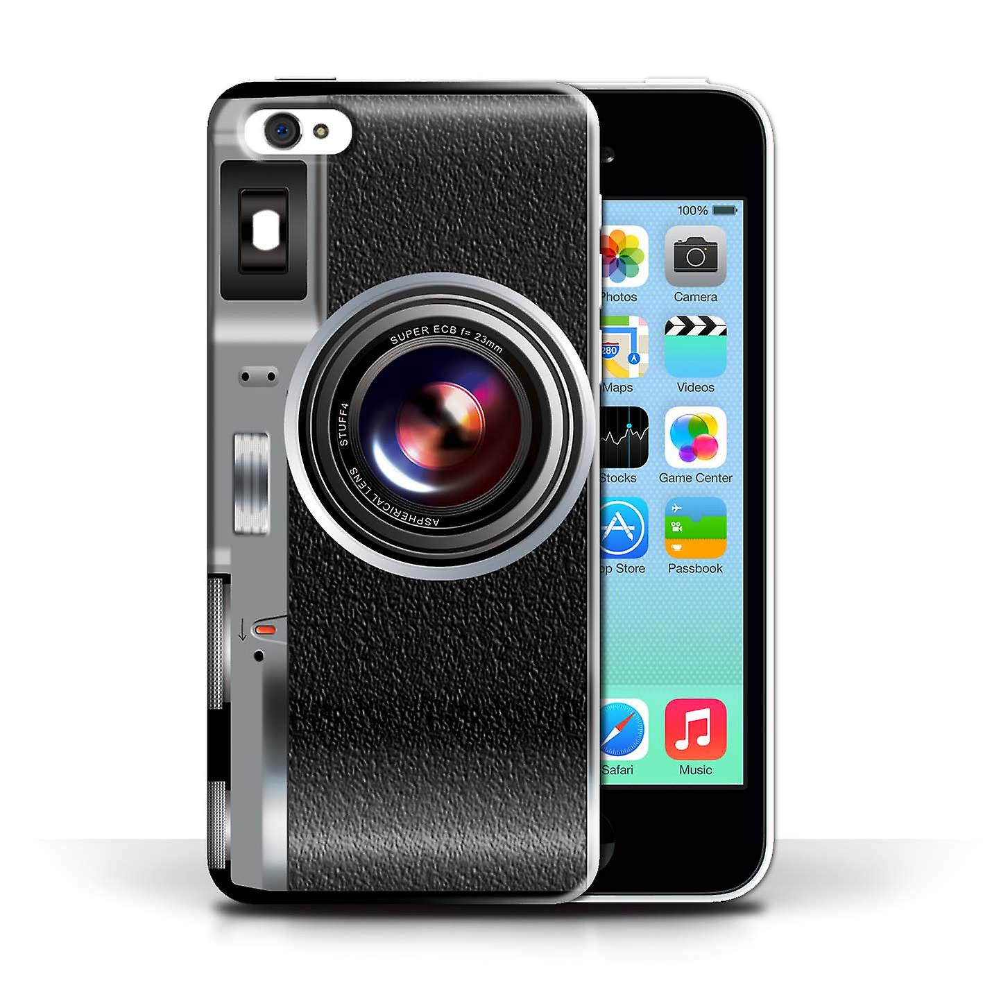 STUFF4 Case/Cover for Apple iPhone 5C/Vintage/Camera