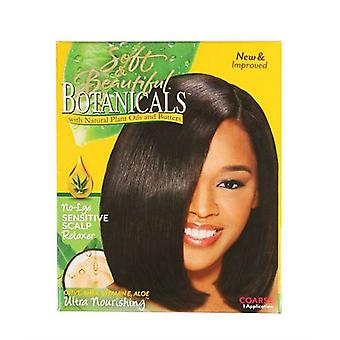 Soft & Beautiful Botanicals No-Lye Sensitive Scalp Relaxer Coarse