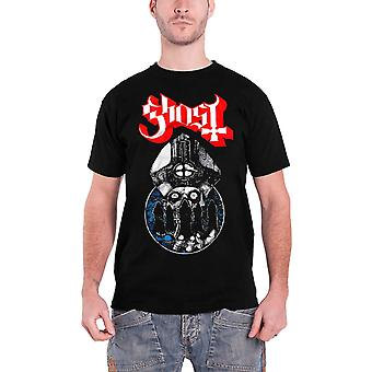 Ghost T Shirt Warriors band logo Papa new Official Mens Black