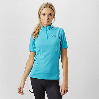 New Gore Women's Element Cycling Jersey Blue