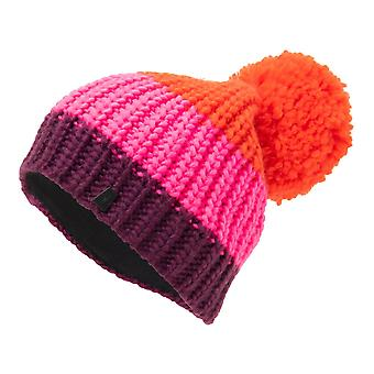 Spyder TWISTY Women's Knit Bommel Winter Ski Hat sizzle