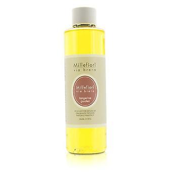 Millefiori Via Brera Fragrance Diffuser Refill - Tangerine Garden - 250ml/8.45oz