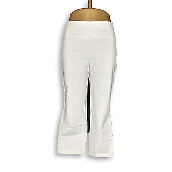 Women with Control Women's Pants Wicked Crop White A307763
