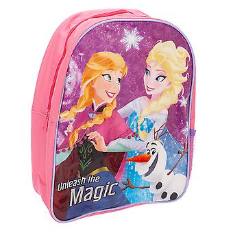 Frozen Childrens Girls Anna And Elsa Character Backpack