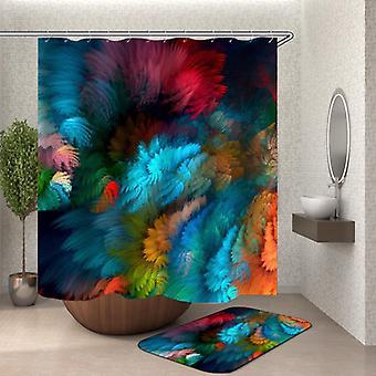 Colorful Blur Shower Curtain