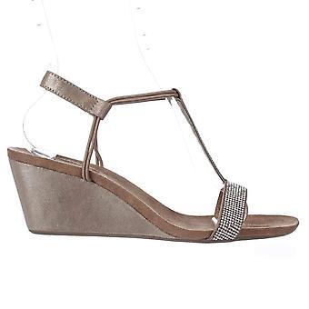 Style & Co Womens Mulan2 Open Toe speciellt tillfälle kilade sandaler