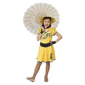 Kinesisk Kina jente jente kostyme asiatisk japansk jente kostyme