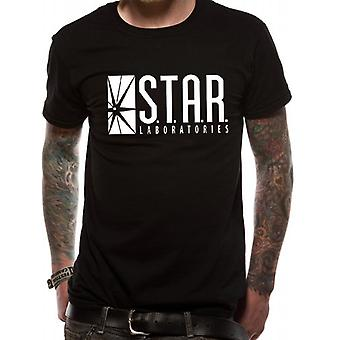 DC Comics The Flash Tv Star Labs T-Shirt