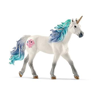 Schleich Bayala Sea Unicorn Stallion Toy Figure (70571)