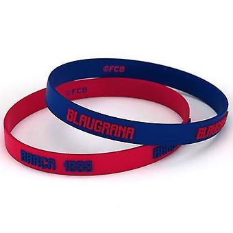 Barcelona 2pk Silicone Wristbands