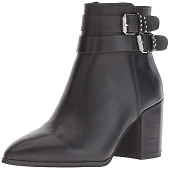 Steven by Steve Madden Womens Pearle Fabric Almond Toe Ankle Fashion Boots