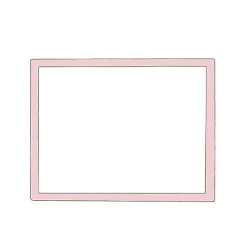 Zedlabz replacement screen lens plastic cover for nintendo ds lite [ndsl]- pink