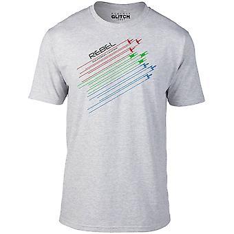 男性'反乱軍の飛行隊長Tシャツ
