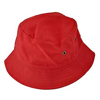 Red fish hat