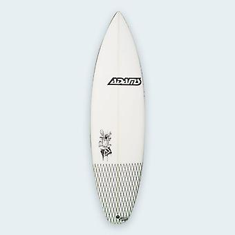 Adams surfplanken - kapitein caveman 6'0