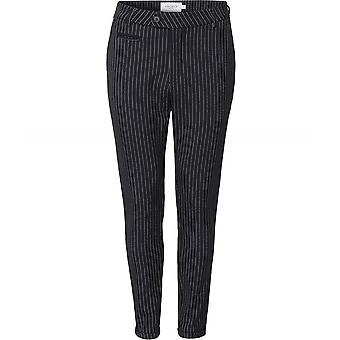 Les Deux Slim Fit Pinstripe Como Trousers