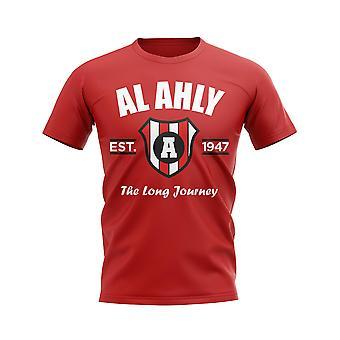 Al Ahly Established Football T-Shirt (rouge)