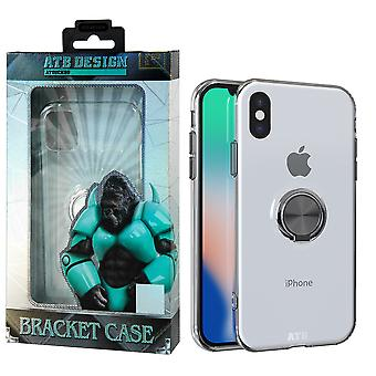 Ring Holder Case TPU iPhone X/XS Transparent