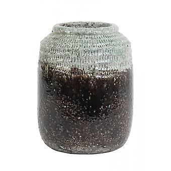 Luz e Panela Viva Deco 26x33cm Cerâmica sterre cinza escuro